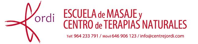 CENTRE JORDI :: Escuela de Masaje y Centro de Terapias Naturales Castellón