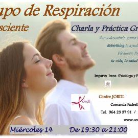 Charla Gratuita Grupo de Respiración Consciente