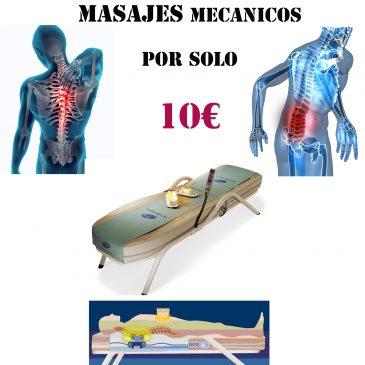 Masajes Mecánicos por solo 10€