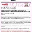 Charla Taller gratuito sobre Kinesiología