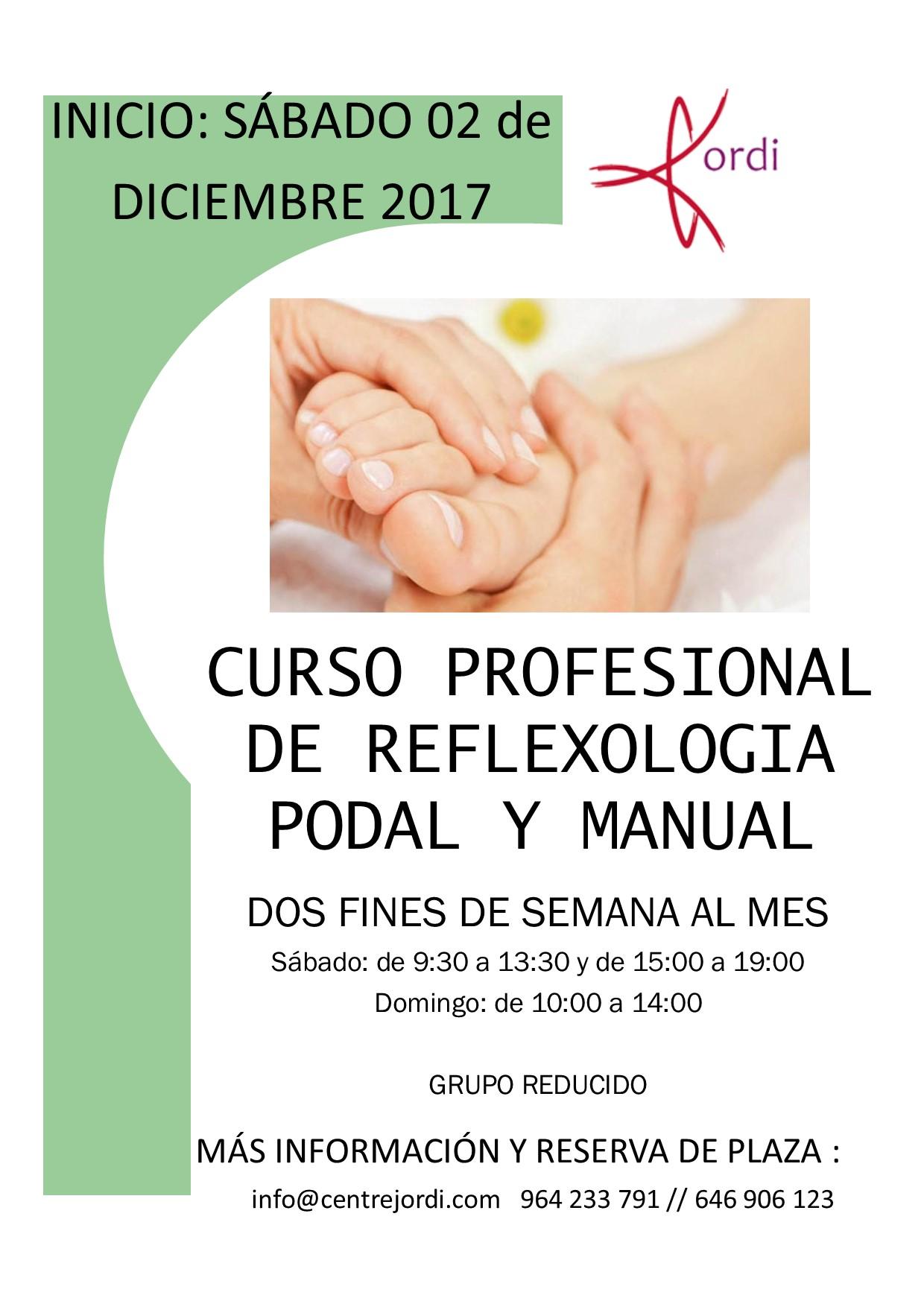 Formación en Reflexología